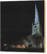 Crooked Spire 2 Wood Print