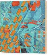 Cross Town Traffic 2 Wood Print