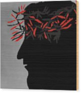 Crown Of Thorns Wood Print