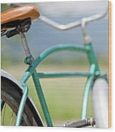 Cruiser Bicycle Wood Print