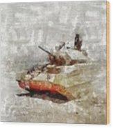Crusader Tank, World War Two Wood Print