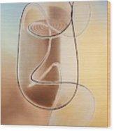 Cup-a-joe Wood Print