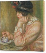 Cup Of Chocolate, 1914  Wood Print