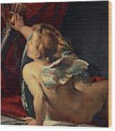 Cupid, 1620 Wood Print
