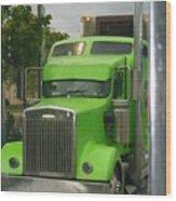 Custom Green Boca Wood Print