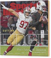 Cutting Edge The 49ers Way Sports Illustrated Cover Wood Print