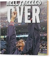 Daily News Backpage Dated Oct. 21 Wood Print