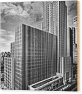 Daily News Building At 220 East 42nd Canvas Print Canvas Art By