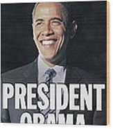 Daily News Front Page Election Special Wood Print
