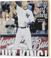 Daily News September 12, 2009, Hit Wood Print