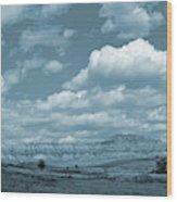 Dakota Sky Dream Wood Print