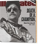 Dale Earnhardt, 1993 Hooters 500 Sports Illustrated Cover Wood Print