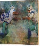 Dallas Cowboys. Wood Print