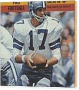 Dallas Cowboys Qb Don Meredith... Sports Illustrated Cover Wood Print