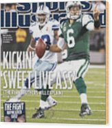 Dallas Cowboys V New York Jets Sports Illustrated Cover Wood Print