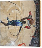 Dallas Mavericks V New Orleans Pelicans Wood Print