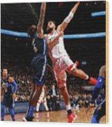 Dallas Mavericks V Toronto Raptors Wood Print