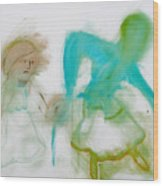 Dancing Wood Print