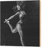 Dancing Is A Form Of Visual Art Wood Print