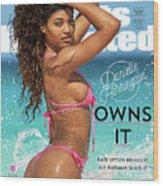 Danielle Herrington Swimsuit 2018 Sports Illustrated Cover Wood Print