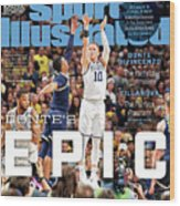 Dantes Epic Donte Divincenzo, The Perfect Performance Sports Illustrated Cover Wood Print