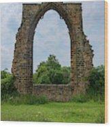 Darley Dale Abbey  Wood Print