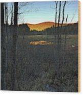 Day Of Eternity Wood Print