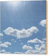 Daylight Savings Wood Print