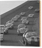 Daytona 24 Hour Endurance Auto Race Wood Print