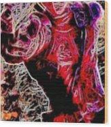 Deadpool Wood Print