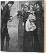 Death Of The Duke Of Kent, Father Wood Print
