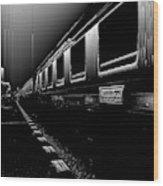 Death Railway Wood Print