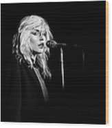 Debbie Harry Performs Live Wood Print