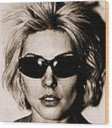 Debbie Harry Portrait Session Wood Print
