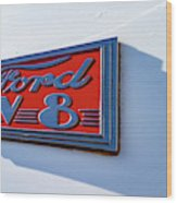 Deco Logo Wood Print