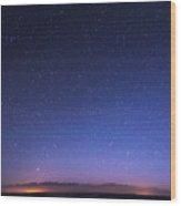 Deep Sky Astrophoto Wood Print