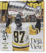 Deja View. The Stanley Cup Look Familiar Sports Illustrated Cover Wood Print