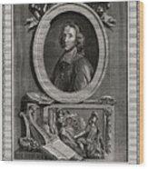 Delamothe Fenelon, 1777. Artist T Cook Wood Print
