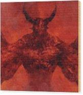 Demon Lord Wood Print