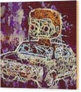 Dean Winchester Car Supernatural Pop  Wood Print