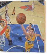 Denver Nuggets V New York Knicks Wood Print