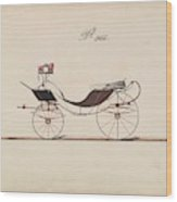 Design For Eight Spring Victoria, No. 966  1850-74 Wood Print