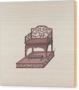 Design For Export Furniture  Anonymous, Chinese, 19th Century Wood Print