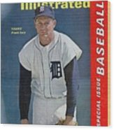 Detroit Tigers Frank Lary... Sports Illustrated Cover Wood Print