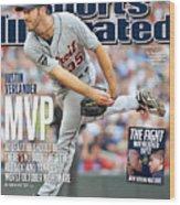 Detroit Tigers V Minnesota Twins Sports Illustrated Cover Wood Print