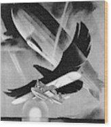 Deutsche Luftpost Wood Print