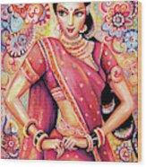 Devika Dance Wood Print