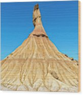 The Desert Of The Royal Bardenas Wood Print