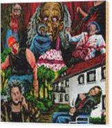 Die Damonische Morderoma Wood Print