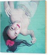 Dip For Dolores Wood Print